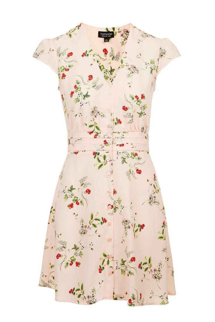 Floral Tea Dress - Dresses - Clothing - Topshop USA