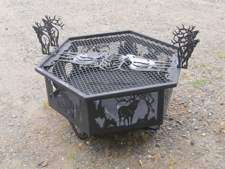 fire pits | grey wolf metal art metal fire pits Gorgeous metal fire pits Ideas