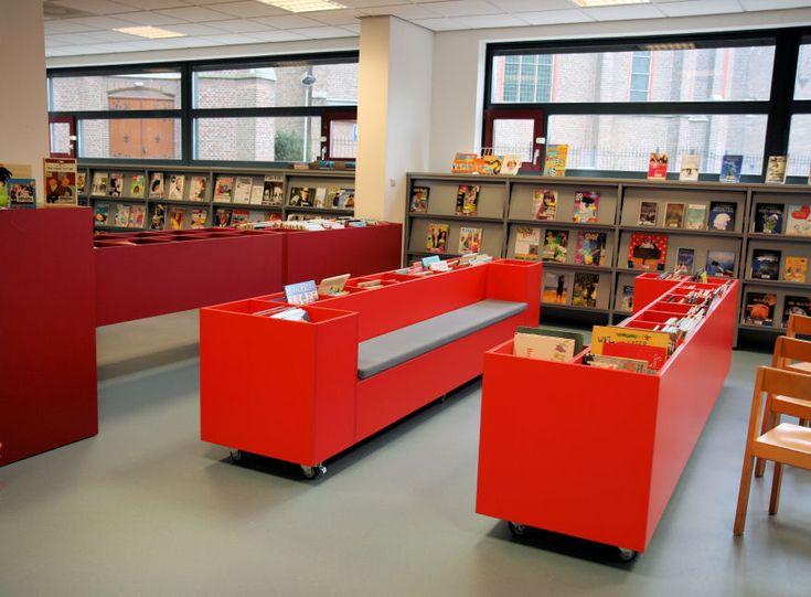 Inrichting bibliotheek Swalmen (Bibliorura) | Portfolio | Vision Furniture