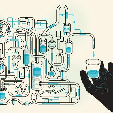 Desalination out of Desperation Severe droughts are forcing researchers to rethink how technology can increase the supply of fresh water