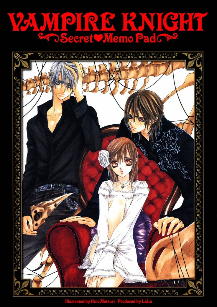 Yuki Cross (黒主 優姫, Kurosu Yuuki), Kaname Kuran (玖蘭 樞) and