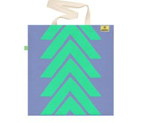 MINT GREEN   Screen printed eco-friendly bag   by BAGNANAS