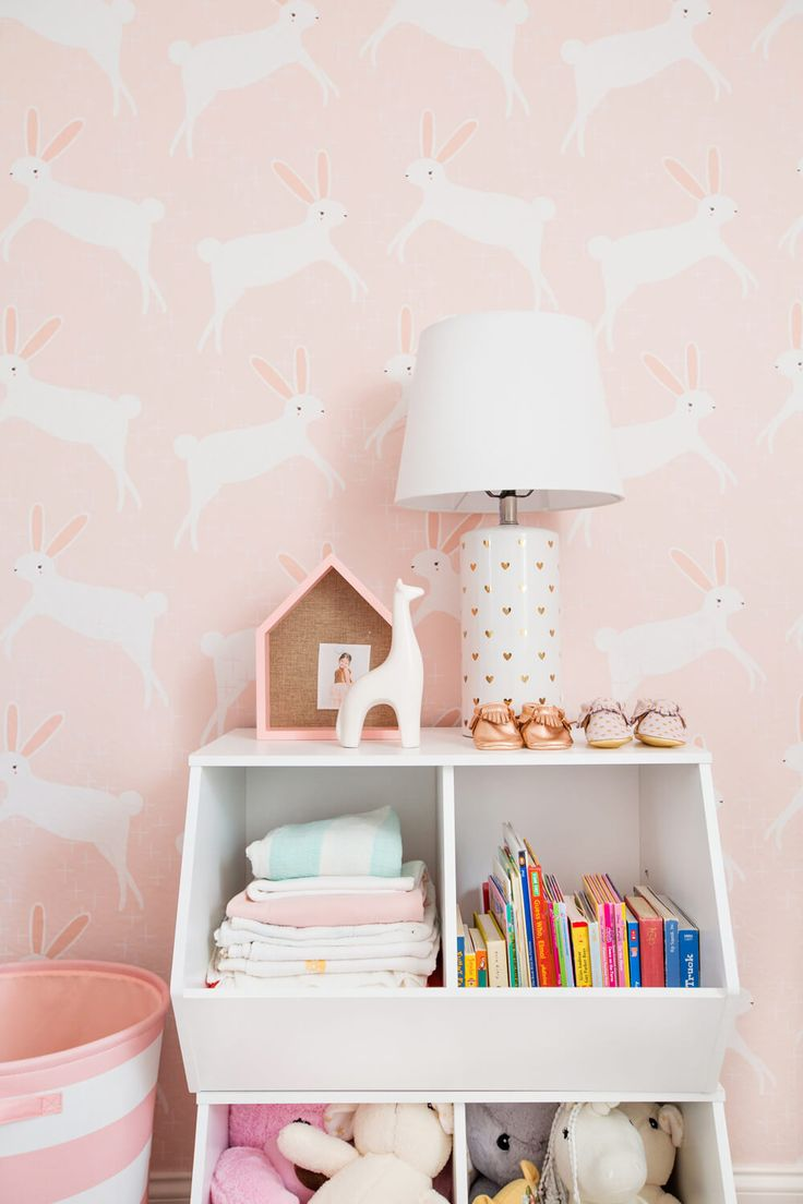 Emily Henderson Pillowfort Target Nursery Makeover Baby Girl Pink-42