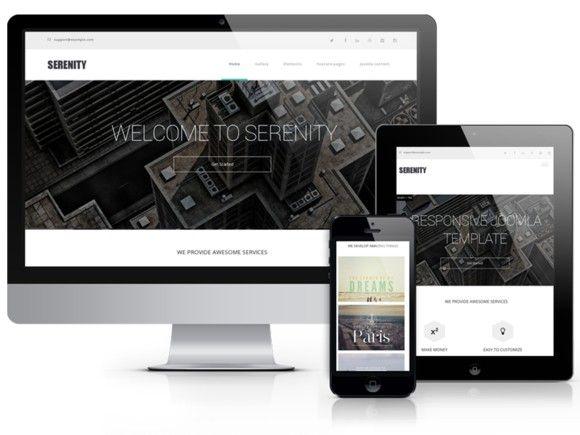 Serenity - for Business & Portfolio. Drupal Themes. $49.00