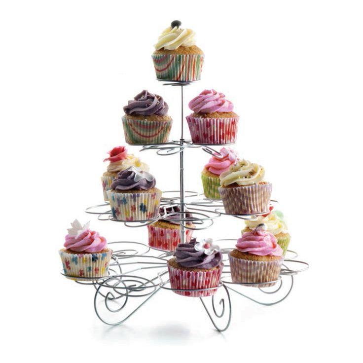 Base o soporte para cupcakes (23 pzas)