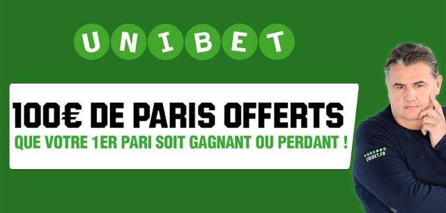 Actu Football et  transferts: Inscription UNIBET SPORT avec Bonus de 100 Euros
