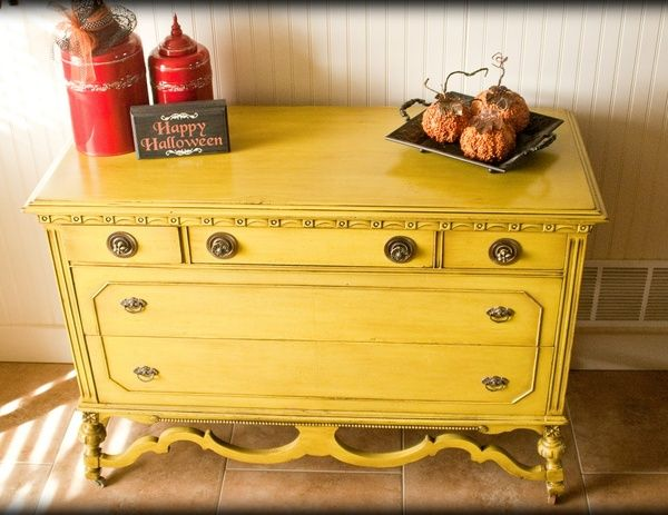 shabby chic painted coffee table Thanks house-decor!