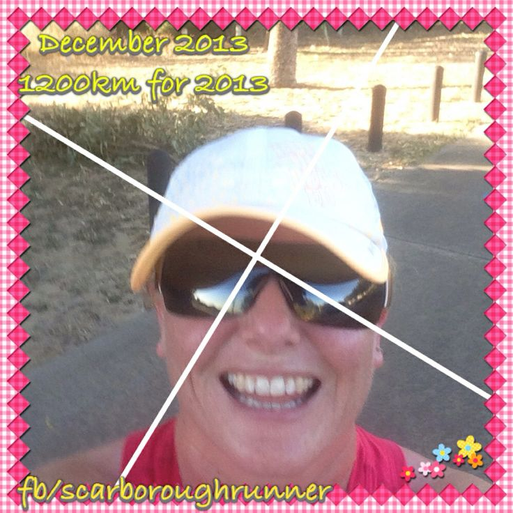 December 2013 Achieved my goal for 2013 by running 1200km !!