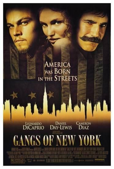 Director Martin Scorsese S Gangs Of New York 2002 Starring