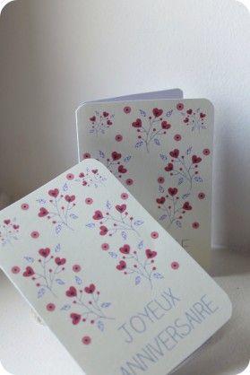 Parce qu'il en faut pour tous les goûts et surtout parce que l'on m'a fait remarquer que c'était bientôt la fête des grands-mères, voici une nouvelle série de cartes à utiliser pour plusieurs occasions : - un anniversaire - une fête. Mais, maintenant...