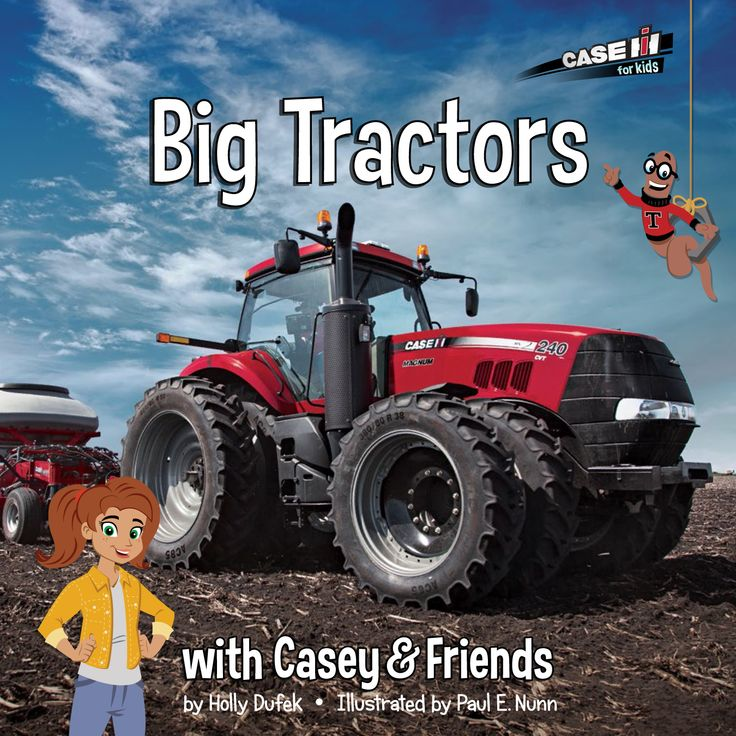 Win a Big Tractors with Casey & Friends book AND 1:64 scale real red tractor toy. Giveaway ends 5/30/15