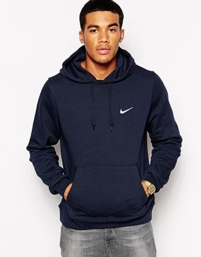 Nike - Club - Sweat à capuche avec logo virgule 611457-473