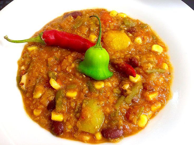 Veganes, basisches Chili, ein gutes Rezept aus der Kategorie Eintopf. Bewertungen: 147. Durchschnitt: Ø 4,5.