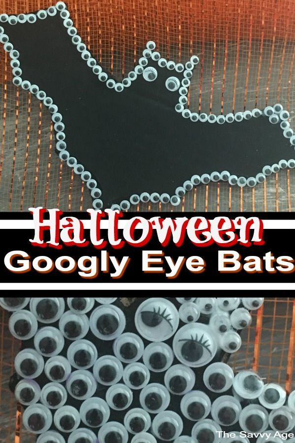 Turn Those Googly Eyes Into Halloween Googly Eye Bats In A Quick And Easy Halloween Craft Love These With Images Easy Halloween Crafts Halloween Crafts Googly Eye Crafts