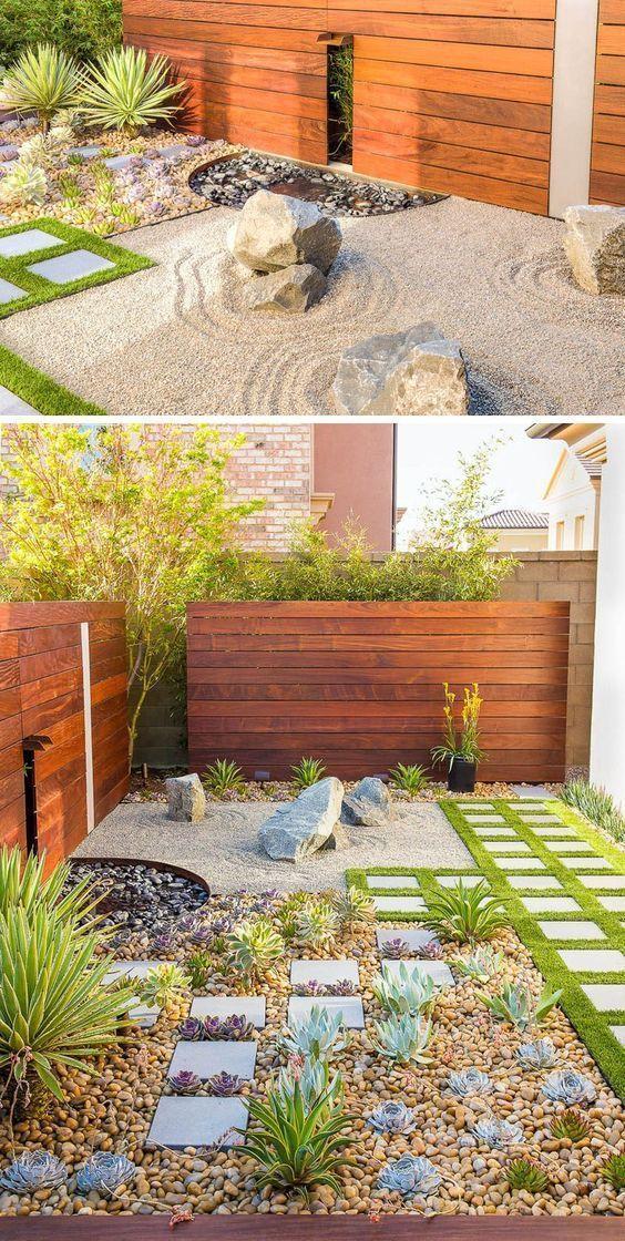12 Beautiful And Minimalist Zen Rock Garden Ideas | Rock Gardens ...
