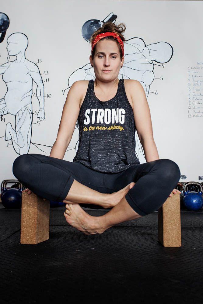 Strong is the new skinny | Women's Flowy Racerback Tank by ASSKICKER INK. $25 CAD