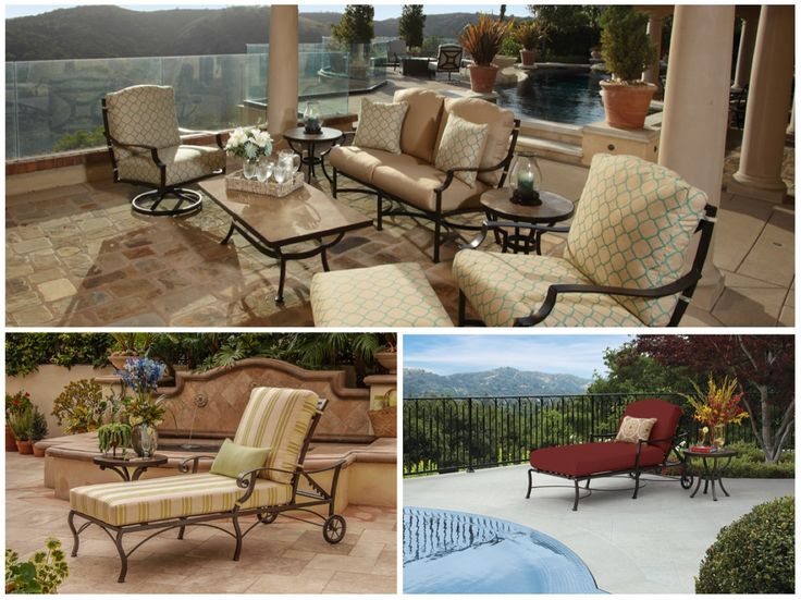 50 Luxury Patio Furniture Collections