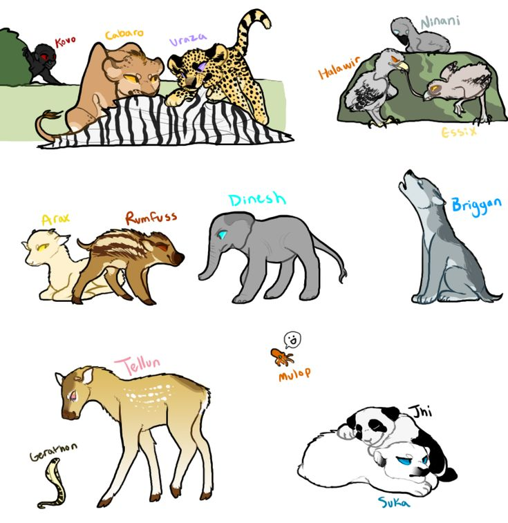 Baby great beasts by Trunswicked.deviantart.com on @DeviantArt