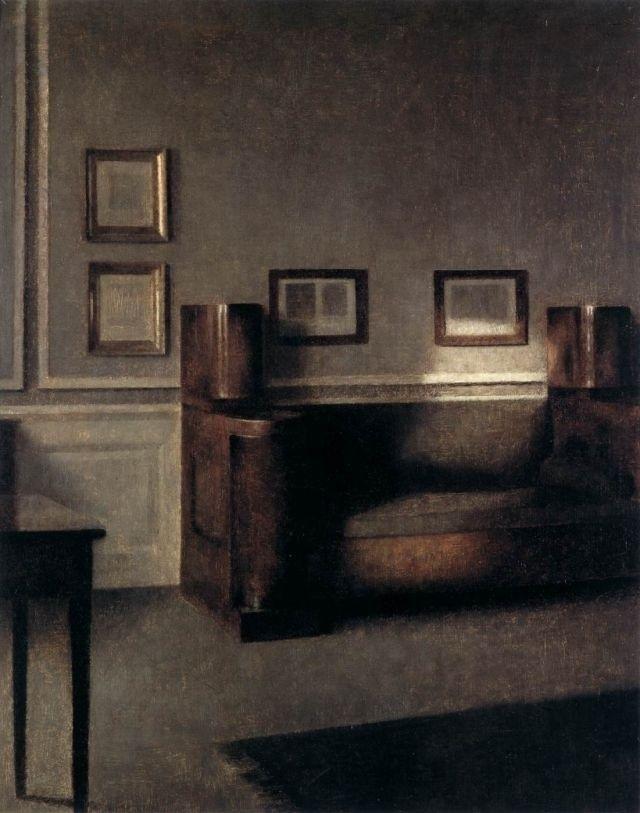 Vilhelm Hammershøi renders light like no other