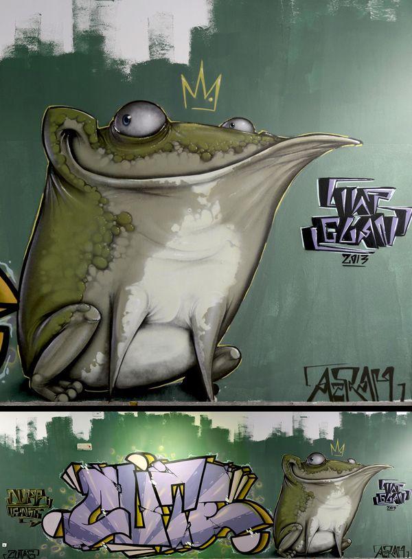Walls of 2013  Part 2 by Maksim Azarkevič, via Behance
