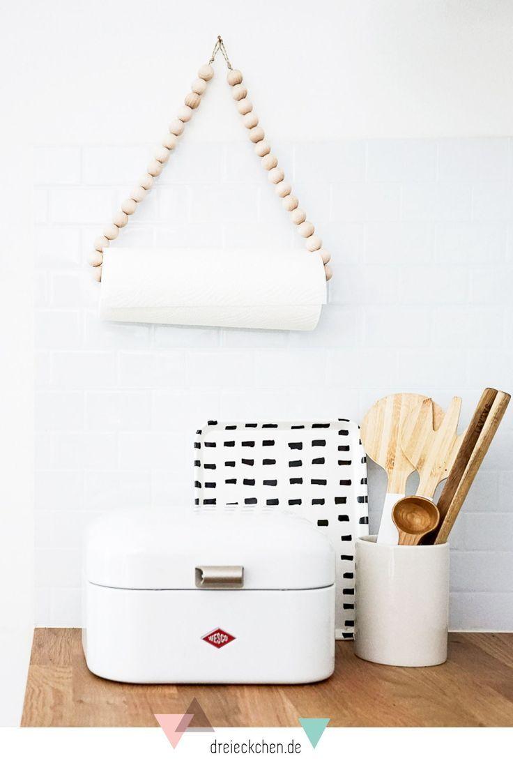 Praktische Kuchenhelfer Diy Ideen Fur Kuchenrollenhalter