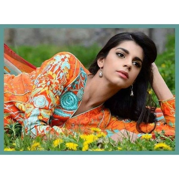 Sanam Saeed Photo Shoot For Warda Saleem 017 | Globalemag via Polyvore