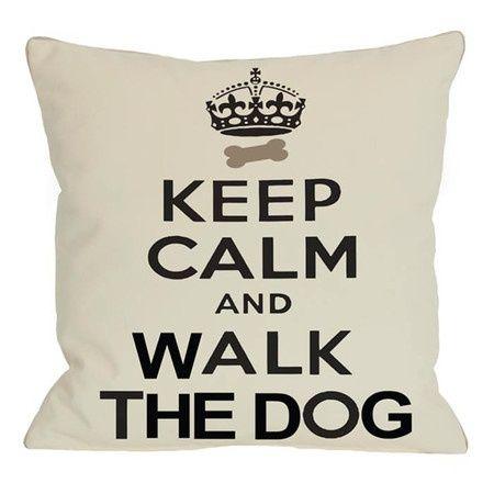 tomatelo con calma y pasea a tu perro