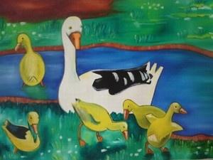 Maggie Laubser: Geese
