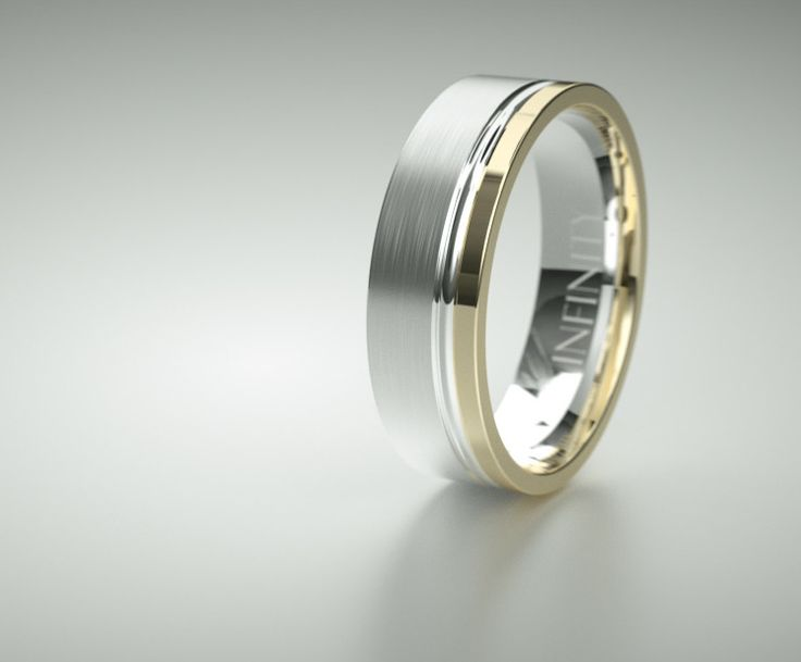Mens Wedding Band by INFINITY Rings  Design Ref IN1224. #gold #paladium #platinum #titanium #whitegold #rosegold #innovativedesign #infinityrings