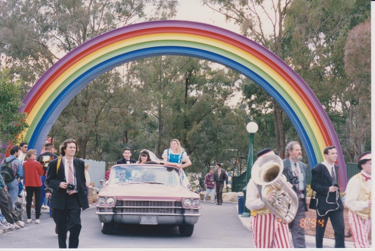A couple who got married at Wonderland back in 1994