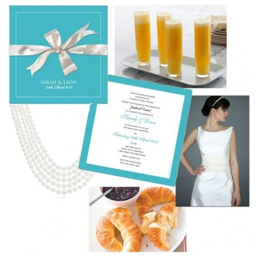 "breakfast at tiffany's bridal shower | Love this: a"" Breakfast at Tiffany's""-inspired wedding breakfast ..."