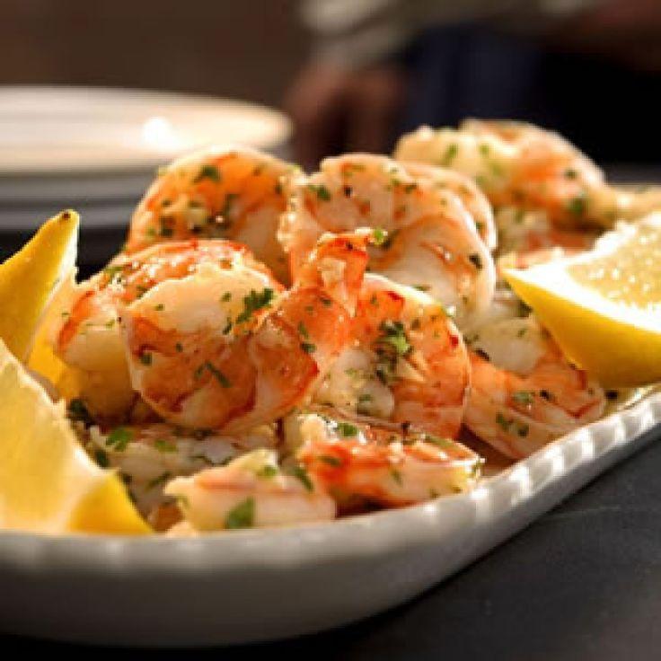 Chilled Lemon Garlic Olive Oil Shrimp Recipe