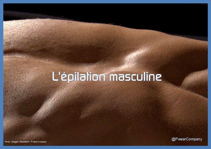Certains hommes sont déjà des adeptes de l'épilation partielle voire carrément complète. #BeautéMasculine #EpilationMasculine #PourHomme