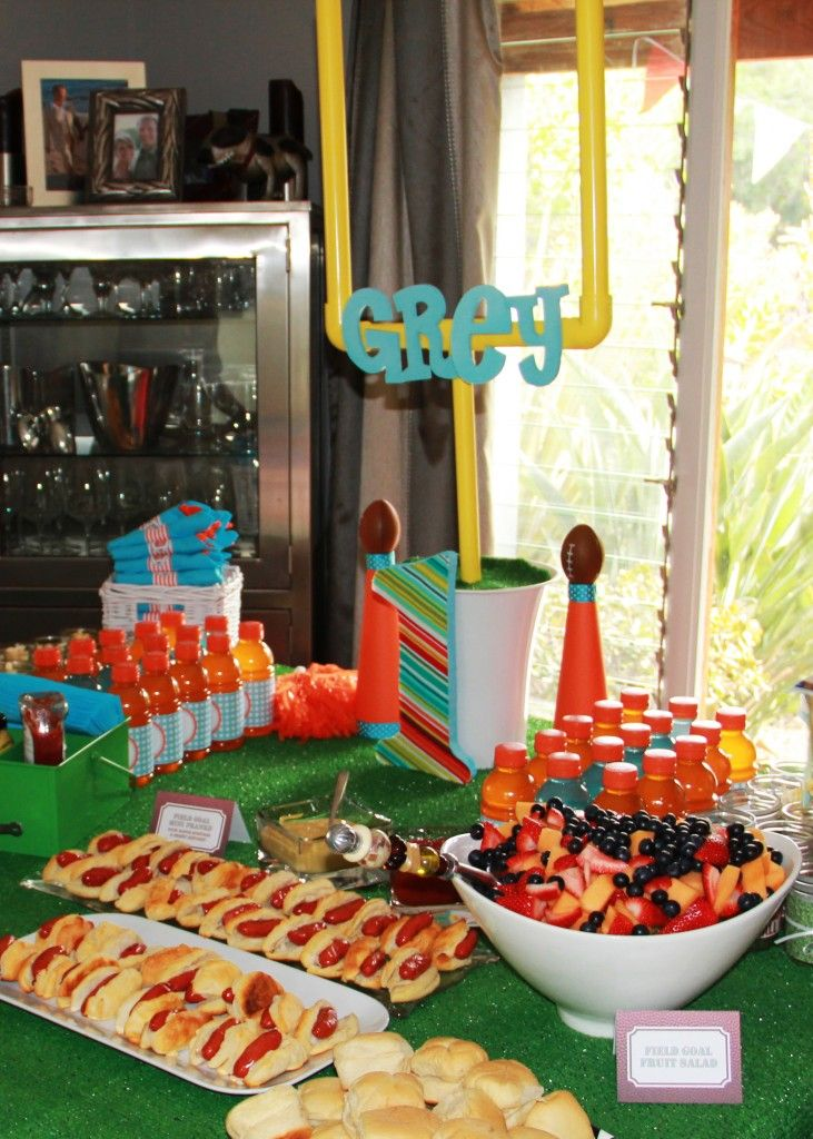 TJ's party.. already made the goal post :)