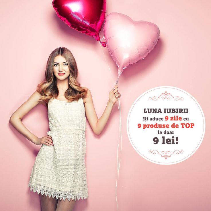 Luna iubirii iti aduce SUPER PROMOTII la produsele de TOP Life Care