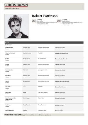 32 Brilliant Celebrity and Celebrity Wannabe Actorsu0027 Resumes - examples of actors resumes