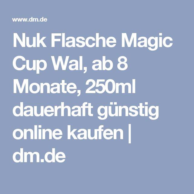 Nuk Flasche Magic Cup Wal, ab 8 Monate, 250ml dauerhaft günstig online kaufen | dm.de