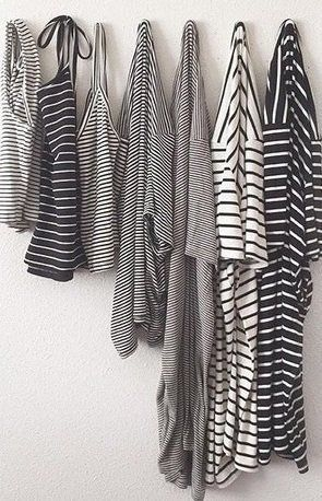 stripes, stripes and more stripes. Never too many striped tops.