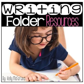 The materials in this set are perfect for creating individual student writing folders for your writing workshop time!