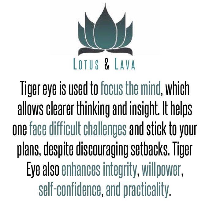 Tiger Eye Meaning.