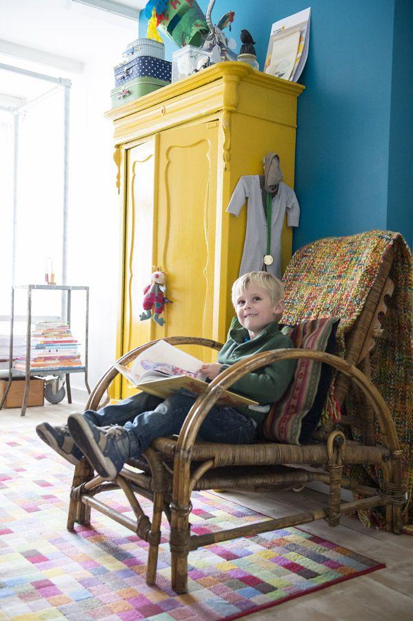 Kleurrijke jongenskamer | Kim timmerman