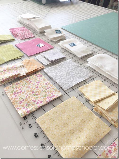 24 besten Charm Square and Layer Cake Quilts Bilder auf Pinterest ...