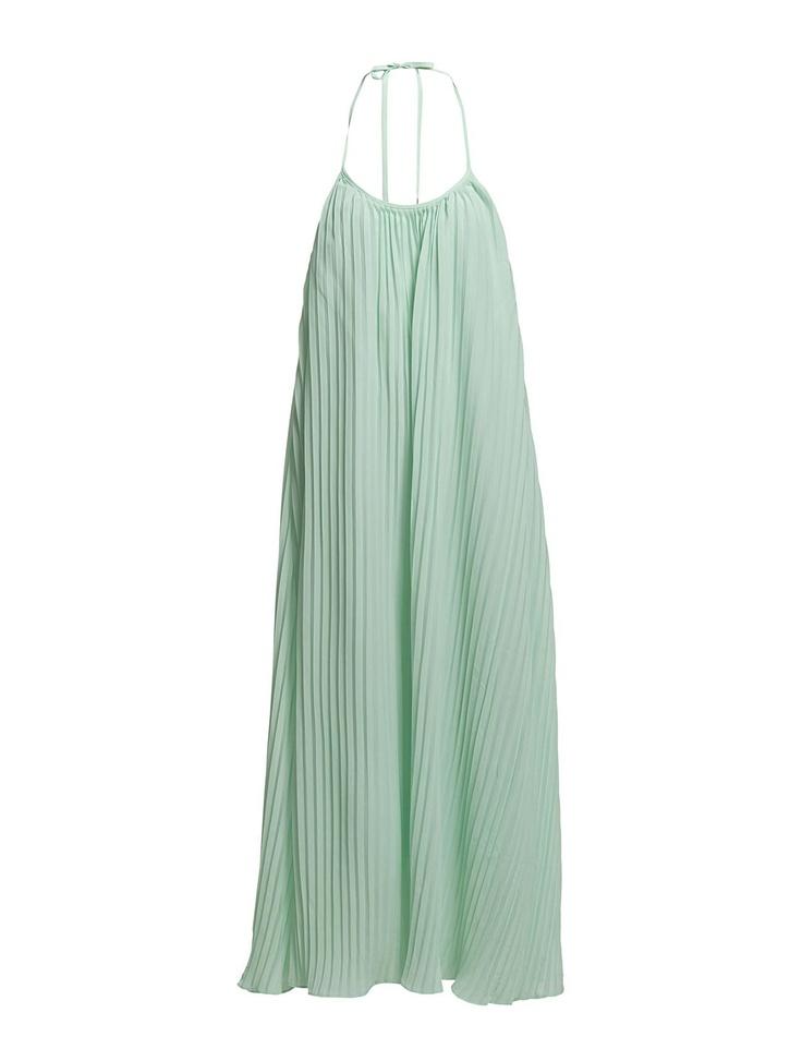 The Wardrobe Paper Maxi Dress Mint
