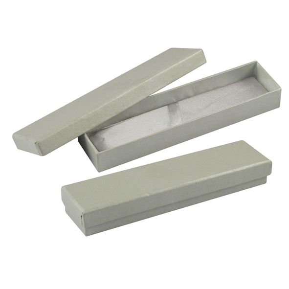 COD.BM029 Estuche de Cartón con tapa, para 1 Bolígrafo. Cama interior acolchada. No incluye Bolígrafo.