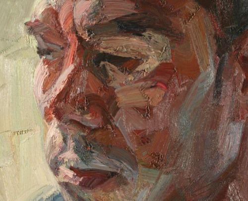 "'Self Portrait' Tai Shan Schierenberg ""Terrific flesh."" KB"