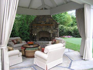 Sandy Springs back yard retreat - traditional - patio - atlanta - Joe A. Gayle & Associates