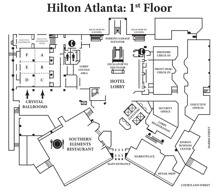 Simple hotel lobby floor plan of the basic floor plans for Hotel design layout