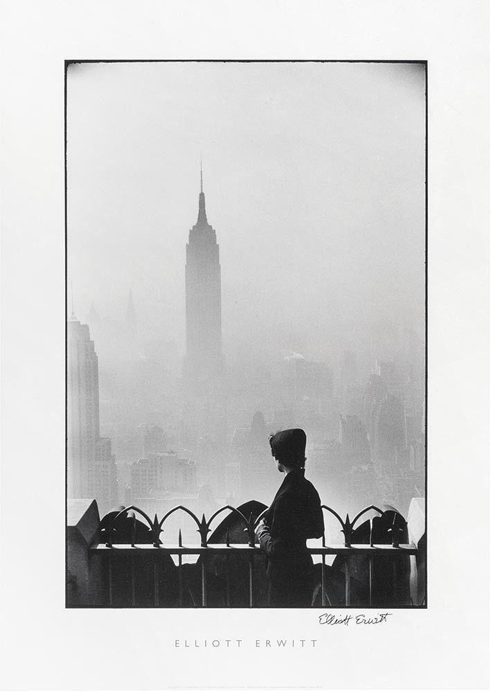 Poster: Elliott Erwitt - Empire State Building - Signed – Magnum Photos