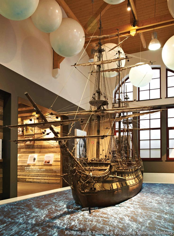 Ballinstadt Emigration Museum Hamburg where history comes alive in an innovative museum experience