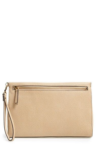 Halogen® 'Double Zip' Clutch available at #Nordstrom